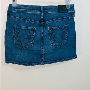 True Religion | Classic Denim Mini Skirt